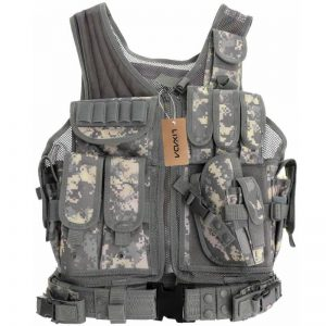 Gilet Tattico Lixada Softair Multiuso