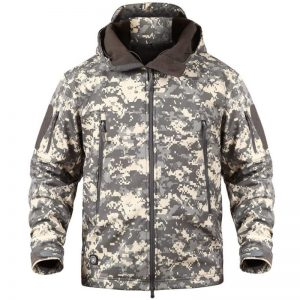 giacca outdoor militare camouflage Memoryee