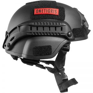 onetigris casco mich 2000 stile airsoft paintball nero