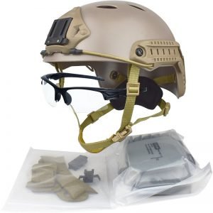 qhiu casco camouflage softair