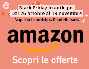 Sconti Amazon Black Friday 2020